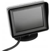 """LCD monitor 3.5"""" Instelbare beeldlijnen 2x RCA input"""