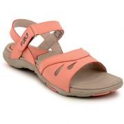 Fuel Women's Girls Coral Beige Velcro Sandals