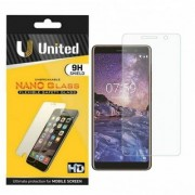 UNITED Nokia 7 Plus(Pack of 2)NANO GLASS TEMPERGLASS SCREENPROTECTOR