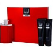 Dunhill Desire Red lote de regalo IV. eau de toilette 100 ml + bálsamo after shave 90 ml + gel de ducha 90 ml