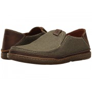 Clarks Trapell Form Olive Canvas