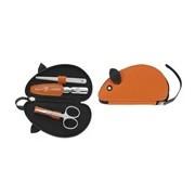 Classic inox kids conjunto rato 3 peças laranja - Zwilling