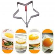 Louiwill Forma De Estrella Molde De Huevo Frito Anillo De Huevo De Acero Inoxidable Molde De Panqueque Cocina Herramientas De Cocina (Estrella)