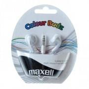 Casti Maxell Maxell Budz Colour White 303484.02.CN