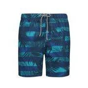 Shiwi-Zwembroeken-Swim Short Graphic Leaf-Blauw