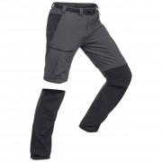Forclaz Pantalon modulable de trek montagne - TREK 500 gris foncé homme - Forclaz - 44 (L34)