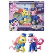 EXCLUSIVE My Little Pony Friendship is Magic Wonderbolts - FLUTTERSHY ADMIRAL & PINKIE PIE GENERAL - 3-Inch Figure 2-Pack