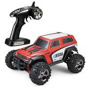 Tozo C1123 Rc Car Exceed High Speed 30Mph 4X4 Fast Race Cars1:24 Scale RTR Racing 4Wd Electric Power Buggy W/2.4G Radio Remote Control Off Road SUV Powersport Red