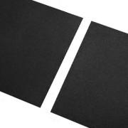 Černá gumová hladká dlaždice FLOMA - délka 100 cm, šířka 100 cm a výška 2,3 cm