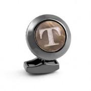 Tateossian initiaal-manchetknoop, T