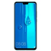 "Telefon Mobil Huawei Y9 (2019), Procesor Octa-Core 2.2GHz / 1.7GHz, IPS LCD Capacitive touchscreen 6.5"", 4GB RAM, 64GB Flash, Camera Duala 16+2MP, Wi-Fi, 4G, Dual Sim, Android (Albastru)"