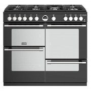 Stoves Sterling Deluxe S1000G Black 100cm Gas Range Cooker