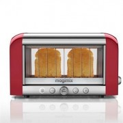 Magimix Toaster vision panoramique Rouge 11540 Magimix