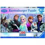 Пъзел Ravensburger 200 елемента, Замръзналото кралство, 708405