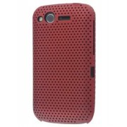 HTC Desire S Slim Mesh Case - HTC Hard Case (Red)
