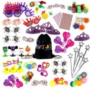 ENJOJ 120 Pcs Party Favor Toys Girl Party Toys for Birthdays Halloweens Wedding Parties Reward Gifts