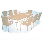 Funda cubre mesa rectangular/oval XL 90x280x170 cm Campingaz