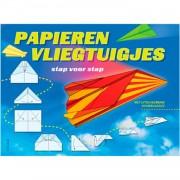 Stap voor stap Papieren Vliegtuigjes vouwen