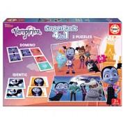 Superpack Vampirina - 2 x puzzle, memo game, domino