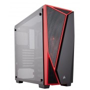 Kuciste Corsair Carbide Series SPEC-04 Window Black/Red, CC-9011117-WW