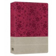 The KJV Cross Reference Study Bible Women's Edition Indexed [Floral Berry]/Compiled by Barbour Staff