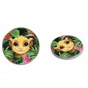 Disney vezeték nélküli töltő - Simba és barátai 001 micro USB adatkábel 1m 9V/1.1A 5V/1A (DCHWSIMBAF001)