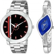 yug 05 139163-New Stylish Beloved Couple Watches for Men and Women Analog Watch - For Couple