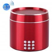 Portable Verdadero Wireless Stereo Mini Altavoz Bluetooth Con Indicador LED Y Arnés Para IPhone, Samsung, HTC, Sony Y Otros Smartphones (rojo)