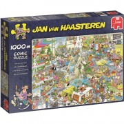 Jan van Haasteren: De vakantiebeurs puzzel