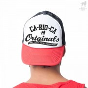 CA-RIO-CA Originals Two Tone Hat Black/Red/White CRC-H109205