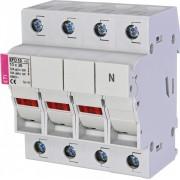 Separator sigurante fuzibile trifazic EFD 10 3p+N LED eti