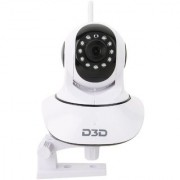 D3D Wireless HD IP Wifi CCTV Indoor Security Camera (White Color)