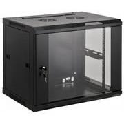 "Intellinet 19"" Wallmount Cabinet - 6U, Assembled,"