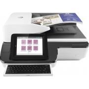 HP Scanjet Enterprise Flow N9120 fn2 600x600 Dpi Flatbed and ADF Scanner Nero Bianco A3
