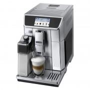 Espressor automat DeLonghi Primadonna Elite ESAM 650.75MS, 1450 W, 15 bar, 1.8 l, 2 duze, display 4.3 inch, iluminare cana, Argintiu/Negru