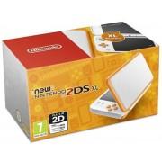 Consola Nintendo 2DS XL (Alb/Portocaliu)