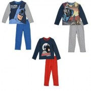 Barman Batman Pyjamas barn (Grå, 6A - 116 cm)