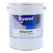 Ruwol Betonverf Grijs (RAL 7040) 5 liter