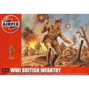 Airfix British Infantry WWI - figurki w skali 1:72 - Airfix A01727