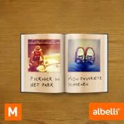 Fotoboek Maken - Staand Medium 15x20 cm met Fotokaft of Linnen Kaft