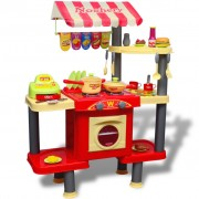 vidaXL Large Kids/Children Playroom Toy Kitchen