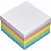 Rezerva cub hartie color Aurora 9x9x9cm