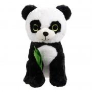 Jucarie de plus Urs Panda, 40 cm, Alb/Negru