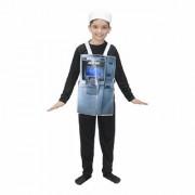 Kaku Fancy Dresses ATM Money Dispensing Machine Costume/Object Fancy Dress -Multicolor 3-8 Years for Unisex