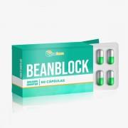 Beanblock 100mg 60 Cápsulas Reduz a absorção de carboidratos e aumenta a saciedade.