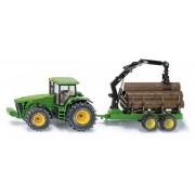 SIKU Farmer - tractor forestier John Deere 1:50