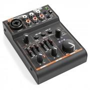 PDM-D301 Mixer USB a 3 Canali Equalizzatore a 2 Bande