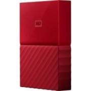 HDD Extern WD My Passport New 2TB USB 3.0 2.5 inch Red