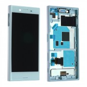 Ecran Complet Lcd + Chassis Pour Sony Xperia X Compact F5321 Bleu