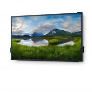 Dell C8618QT Monitor Touch Screen 86'' Led per Comunicazione Interattiva 4K Ultra Hd Nero Finiture Argento